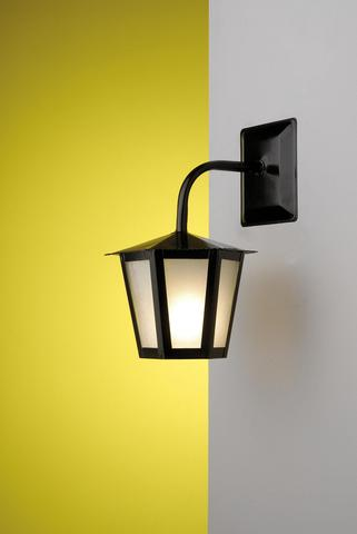 Imagem de Arandela Colonial Sextavada Ideal Iluminação L-1-B Preta