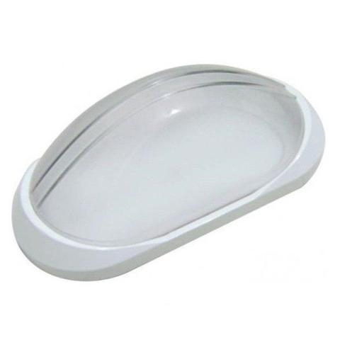 Imagem de Arandela Tartaruga Externa Plástica Alta Qualidade Branca AC189