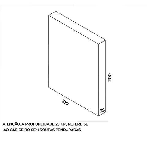 Imagem de Arara de parede - 3,10m