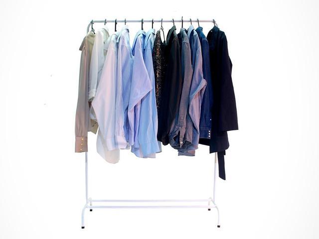Imagem de Arara Para Roupas Com Sapateira E Cabideiros Cabide Apartamento Resistente Loja Vestuário