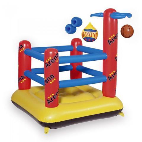 Imagem de Arena inflavel pula pula brinquedo boxe basquete cesta diversao festas eventos (001865)