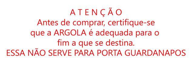 Imagem de Argola de Madeira 6.0 55 mm para Artesanato Macramê PCT c/50 unidades