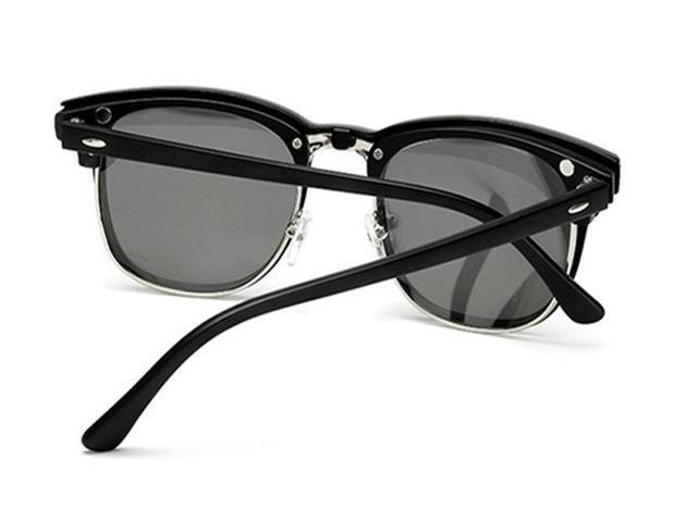 Imagem de Armação de Óculos + 5 Lentes Clip On de Sol e Noturna Polarizadas
