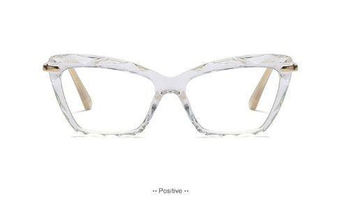 Imagem de Armação Gatinho Luxuosa para Óculos de Grau