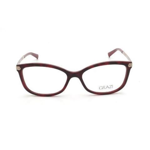 c38b1d4d6 Imagem de Armação Óculos De Grau Feminino Grazi Massafera Gz3026b E398
