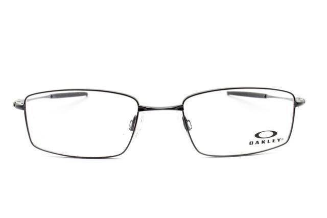Imagem de Armação Óculos Grau Oakley Masculino OX3136 0253 Polished Black