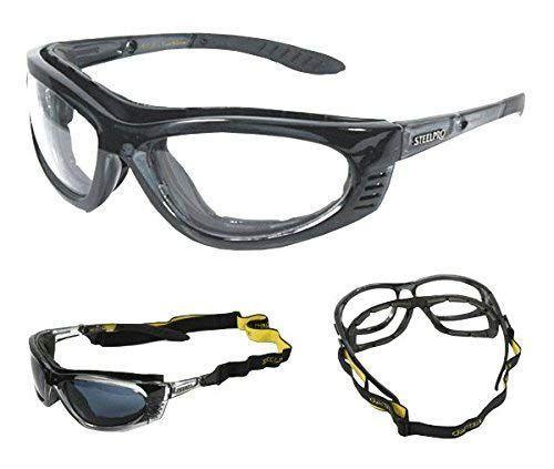 7a7b3f9b30a99 Imagem de Armação Óculos Segurança Para Lente De Grau Steelpro Vicsa TURBINE