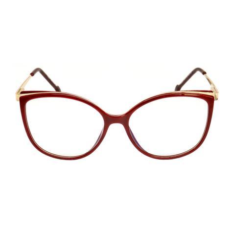 Imagem de Armação Para Óculos De Grau Feminino Retrô Isabela Dias 6603