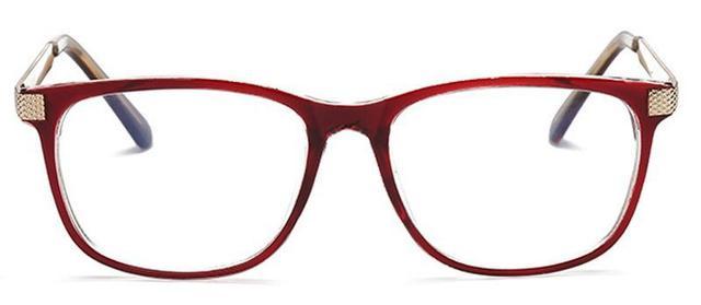 Imagem de Armação Vintage Quadrada para Óculos de Grau - Várias Cores