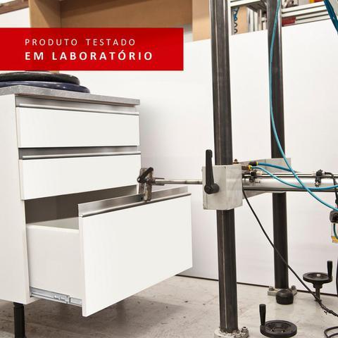 Imagem de Armário Aéreo Madesa Glamy 60 cm 1 Porta - Rustic/Preto - Madesa Móveis