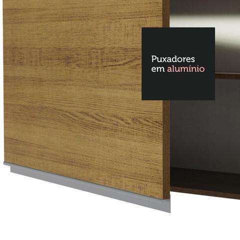 Imagem de Armário Aéreo Madesa Glamy 60 cm 1 Porta - Rustic