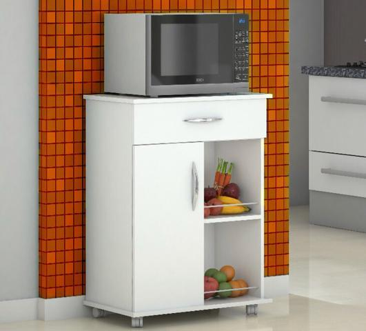 Imagem de Armário Balcão Cozinha c/ Fruteira Multiuso  Branco