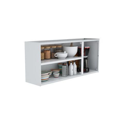 Imagem de Armário de Cozinha Aéreo Colormaq Verona 3 Portas 52,8x120cm em Aço