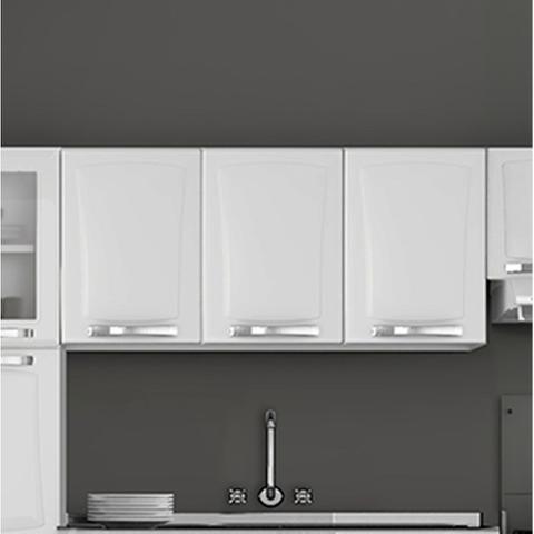 Imagem de Armario de Cozinha Aereo Itatiaia Itanew 3 Portas Branco IP3-120