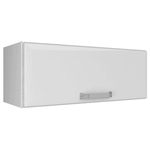 Imagem de Armario de Cozinha Aereo Itatiaia Luce 1 Porta Branco Geladeira Horizontal IPH-70