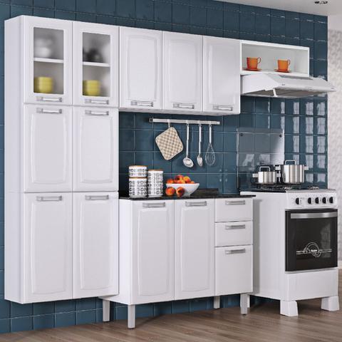 Imagem de Armario de Cozinha Aereo Itatiaia Luce 3 Portas Branco IP3-105