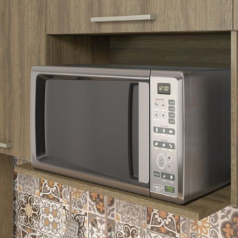 Imagem de Armario de Cozinha Aereo Itatiaia Star 3 Portas Castanho PD 1P1PH-120 NC/PD 1PH-70