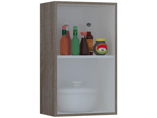 Imagem de Armário de Cozinha Aéreo Kits Paraná 1 Porta