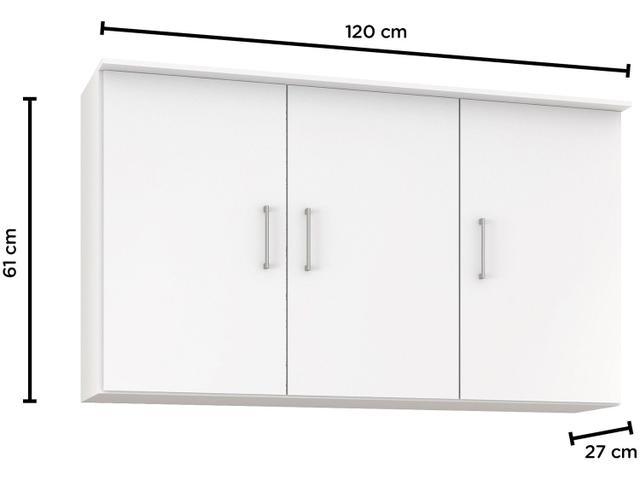 Imagem de Armário de Cozinha Aéreo Poliman Berna