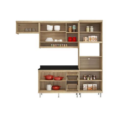 Imagem de Armário de Cozinha Completo 5 peças 2,60m 5829 Linha Sicília Multimóveis