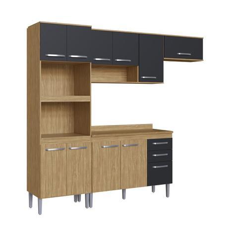 Imagem de Armário de Cozinha completo 5pc 2,55m Bélgica A3095 Casamia