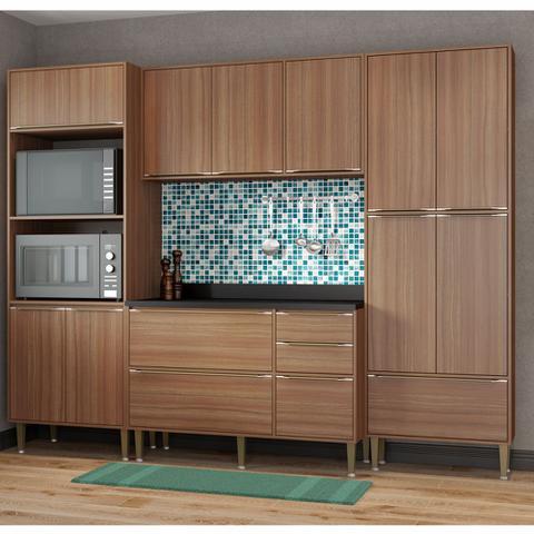 Imagem de Armário de Cozinha Completo 5pc 2,60m Calábria 5452 Multimóveis