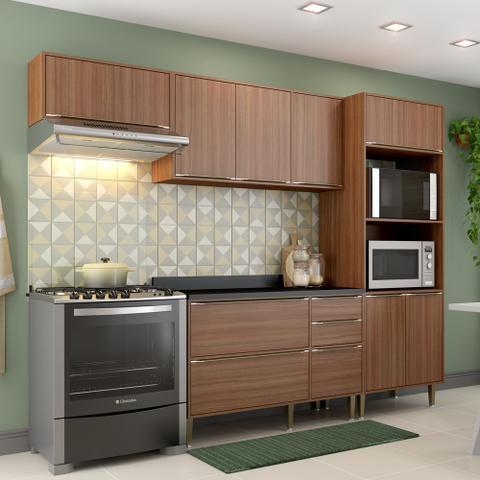 Imagem de Armário de Cozinha Completo 5pc 2,60m Calábria 5457 Multimóveis