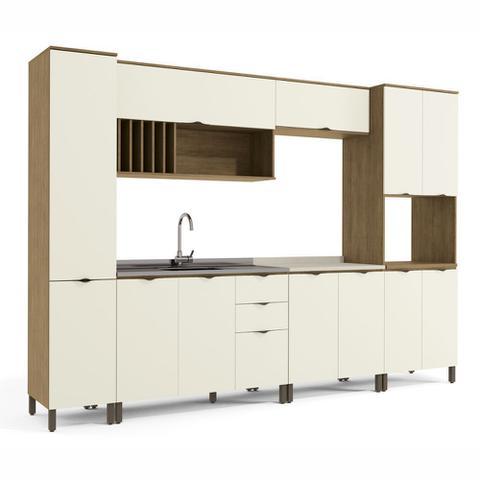 Imagem de Armário de Cozinha completo 7 peças CB570 Lótus Kappesberg
