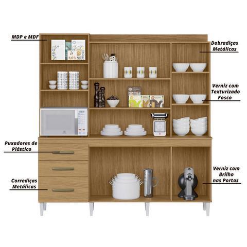 Imagem de Armário de Cozinha Completo Mirela Atacama/Off White