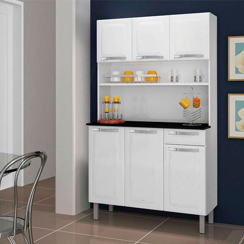 Imagem de Armário de Cozinha Rose Itatiaia Branco Nevada