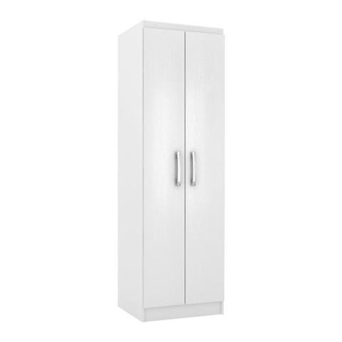 Imagem de Armário Multiuso 2 Portas 4 Prateleiras Branco