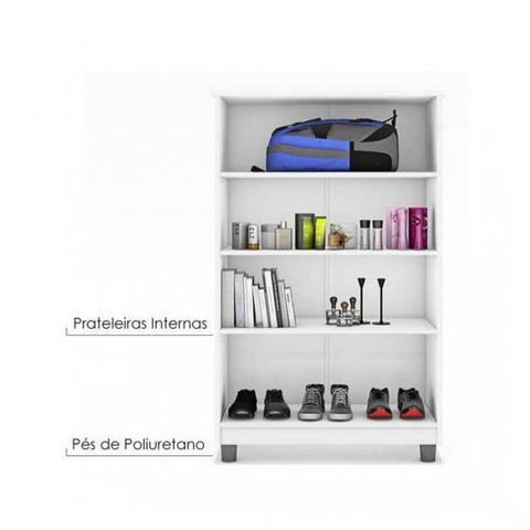 Imagem de Armário Multiuso Multiuso Smart JA Móveis Branco