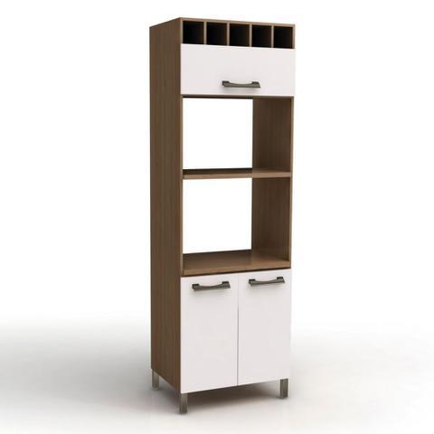 Imagem de Armário para Forno e Microondas Kappesberg D729 de 70cm 3 Porta