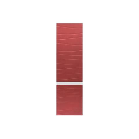 Imagem de Armário Superior para Banheiro em Mdf Marsalo 39,5x125cm Ônix E Marsala