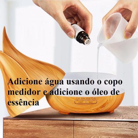 Imagem de Aromatizador Difusor Elétrico Ultrassônico Tomada Tulipa