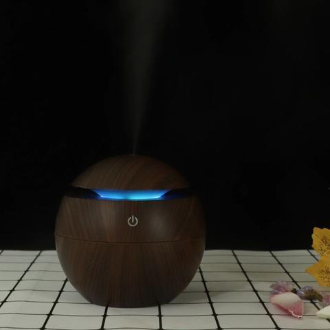 Imagem de Aromatizador Umidificador Difusor Elétrico Usb Led 7 Cores