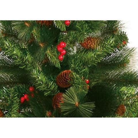 Imagem de Árvore De Natal Decorada Alpina 180 Cm Yangzi