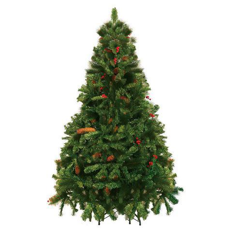 Imagem de Árvore De Natal Decorada Pinheiro Alpina 1,80M 660 Galhos