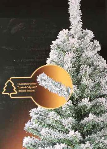 Imagem de Árvore de Natal Pinheiro 1,50 M 150 cm 400 Galhos Ramos Realista Neve Nr 30