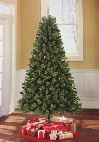 Imagem de Árvore de Natal Pinheiro 2,10 M 210 cm 600 Galhos CRX Nr 05
