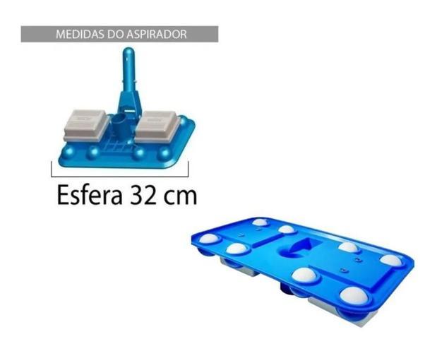 Imagem de Aspirador 8 Esferas P/piscina De Fibra/alvenaria - Sodramar