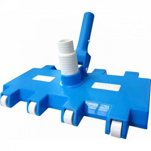 Imagem de Aspirador 8 Rodas para Limpeza de Piscinas de Fibra e Alvenaria  Netuno