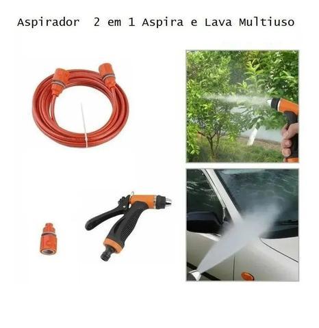 Imagem de Aspirador Automotivo E Lavador Carro e Moto Portátil.