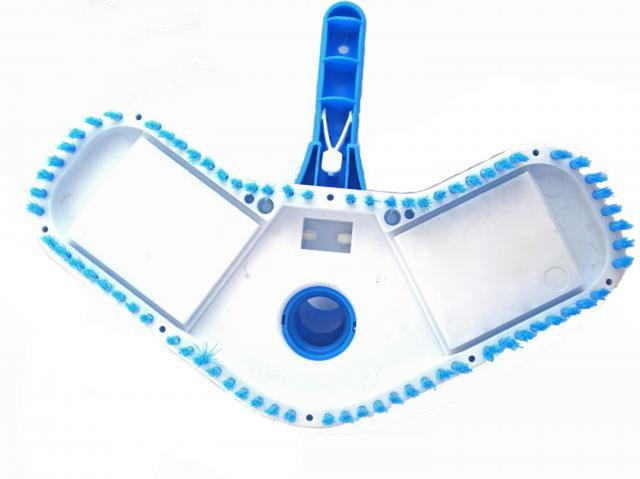Imagem de Aspirador Boomerang p/ piscinas de vinil, fibra e alvenaria- Sodramar