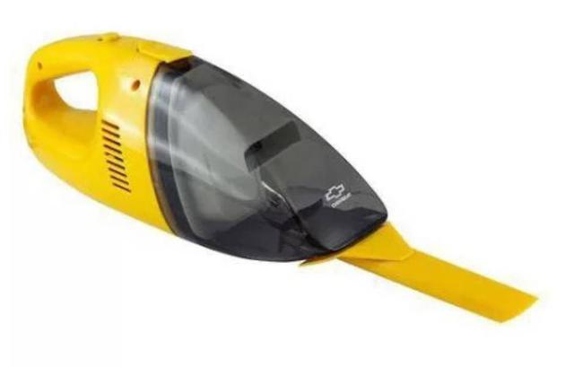 Imagem de Aspirador Chevrolet de carros portátil 12v potencia de 60w com filtro reutilizável bico para canto