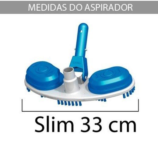 Imagem de Aspirador com Escova Slim p/ piscinas - Sodramar