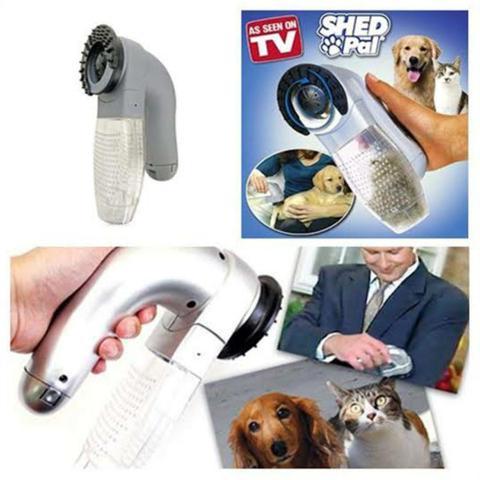 Imagem de Aspirador de Pelo portátil para Pet cão e gato Shed Pal