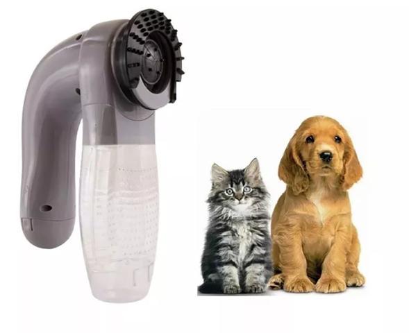 Imagem de Aspirador De Pelos Portátil Cachorros Gatos Cuidados Massagem Western Pet