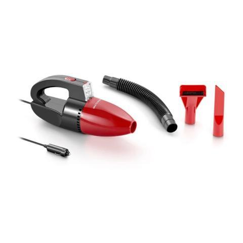 Imagem de Aspirador de Pó Automotivo Multilaser 1500pa 12v 60w Funcao Solido e Liquido com Mangueira - Vermelho Au607