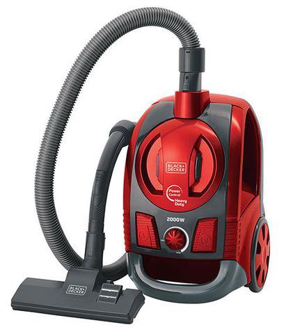 Imagem de Aspirador de Pó Ciclônico de Alta Performance Vermelho metálico 2000w 127v Black+Decker